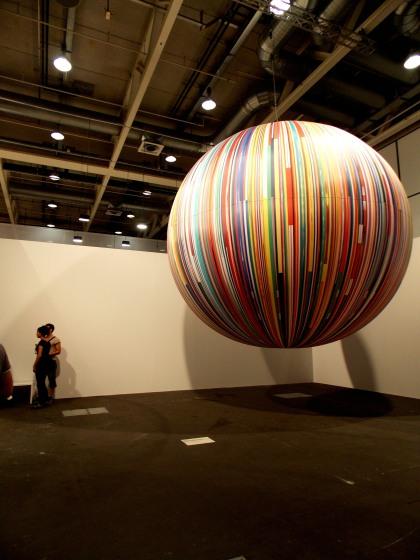 Citoyen du Monde: balloon, Meschac Gaba