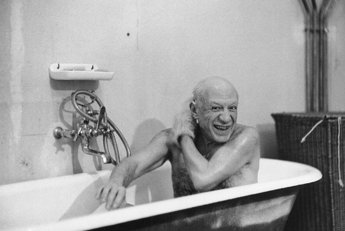 Picasso by David Douglas Duncan 1956