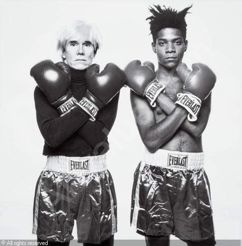 Basquiat e Andy (artvalue)