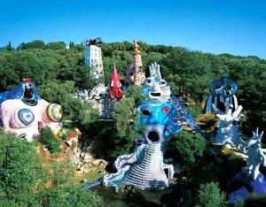 giardino dei tarocchi panoramica