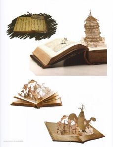 Testi illustrati di Zhang Xiaotao.