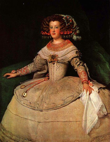 La infanta María Teresa de España - Diego Velázquez (1652-1653)