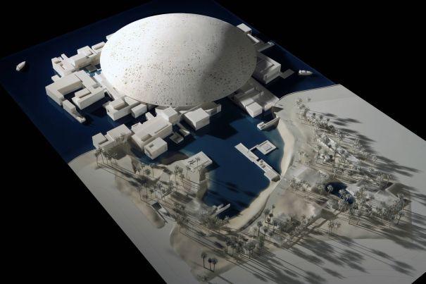 Il Louvre di Abu Dhabi in progettazione. Fonte: www.lexpress.fr