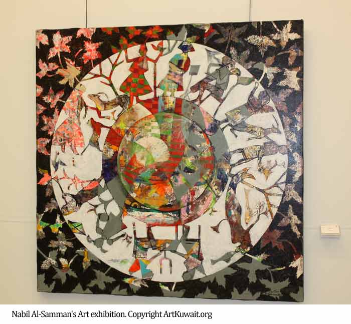 Nabil-Al-Sammans-Art-exhibition-in-Kuwait-3