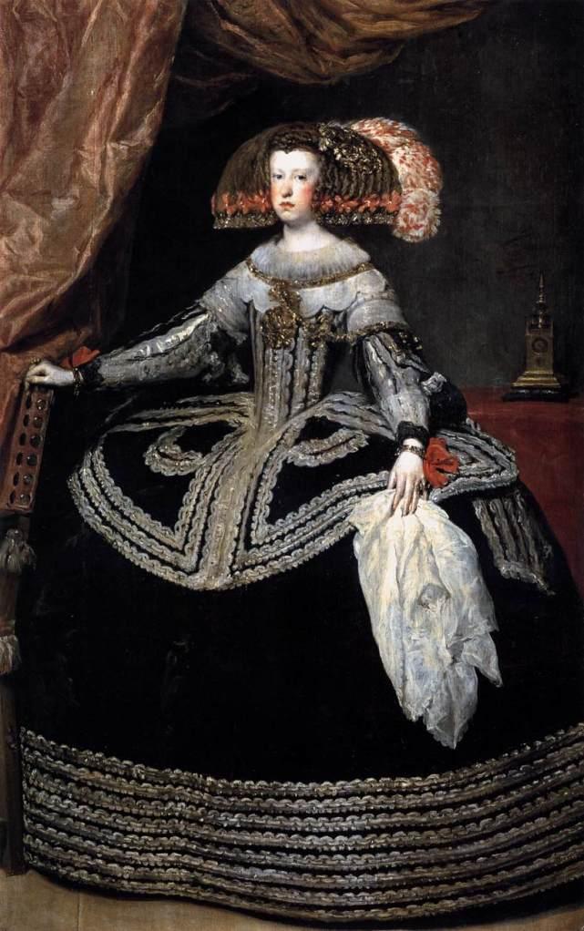 Mariana de Austria - Diego Velázquez (1653)