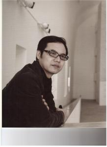 Il curatore Wang Chunchen.