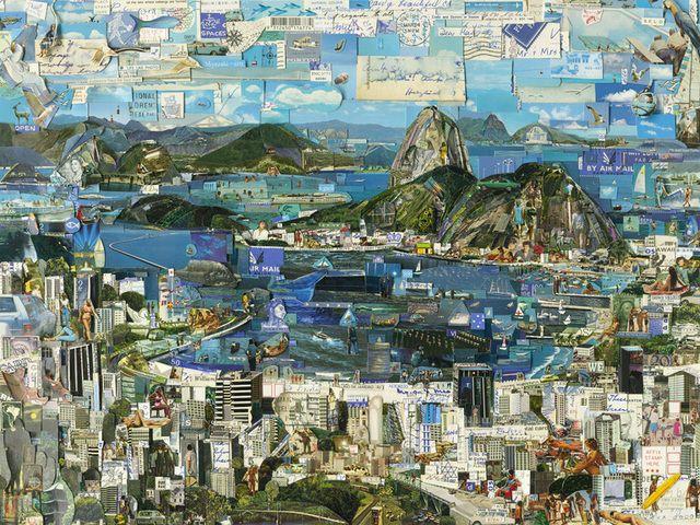 Vik Muniz, Rio de Janeiro Postcard, Galeria Nara Roesler