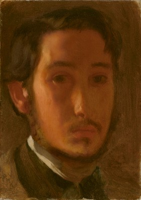 Autoritratto con colletto bianco Degas