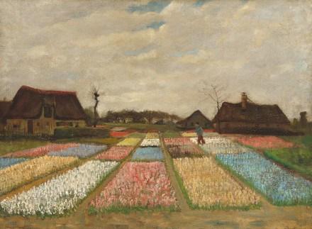 Letto di fiori in Olanda van Gogh