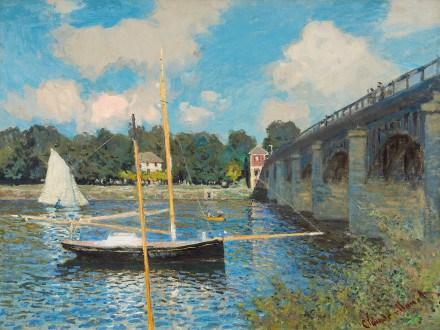Ponte ad Argenteuil Monet