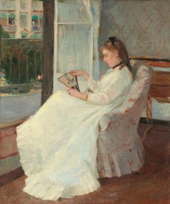 Sorella dell'artista alla finestra Morisot