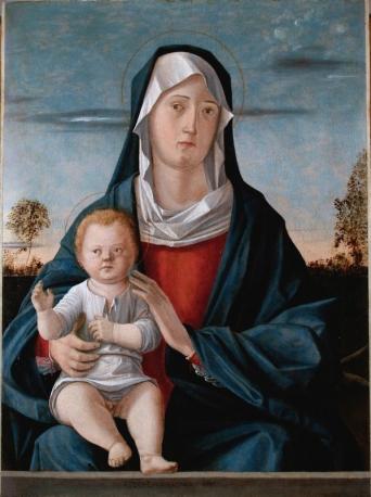 Carpaccio, Madonna Con Bambino, 1487