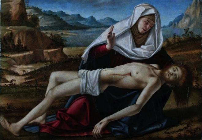 Carpaccio, Pietà, 1490