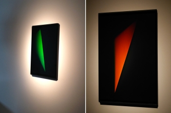 Green and Orange Triangle Outie, 2012 e 2013.