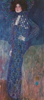 Klimt - Ritratto di Emilie Flöge -1902