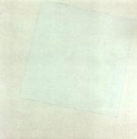 quadrato bianco su bianco 1918