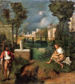 Giorgione, La Tempesta, 1502 - 1503