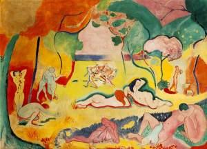 H. Matisse_ Le bonheur de vivre, 1906, olio su tela, 175x241; Barnes Foundation, Philadelphia