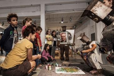 CAI067 Peasant da Vincis workshop Robot pittori©Lorenza Daverio - Museo Nazionale Scienza Tecnologia