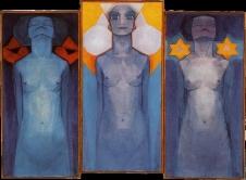Piet Mondrian, Evoluzione, 1910
