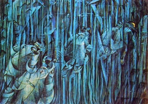 Boccioni - Quelli che restano degli stati d'animo 1911
