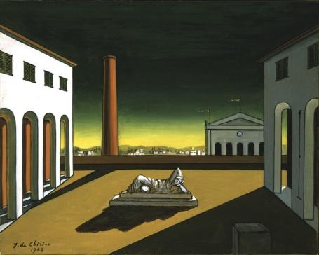 De Chirico - Piazza d'Italia 1948