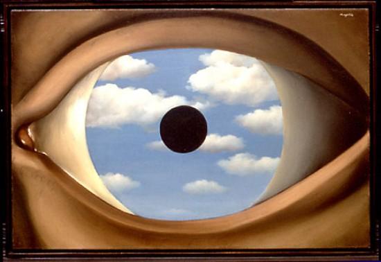 Ren magritte il falso specchio 1928 master economia e - Falso specchio magritte ...