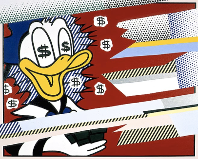 Roy-Lichtenstein-Portrait-of-a-Duck-1989-Mitchell-Innes-Nash