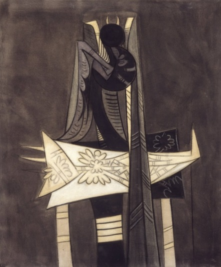 wifredo lam composition 1942