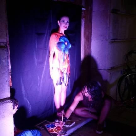 body painter uol art