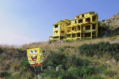 spongebob a pizzo