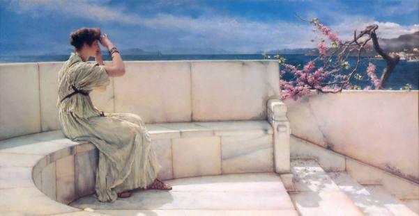 Expectative Sir Lawrece Alma Tadema
