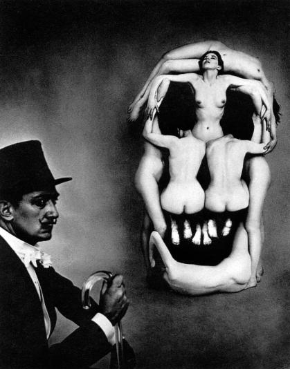 In Voluptas Mors - Salvador Dalì & Philippe Halsman (New York City 1951)