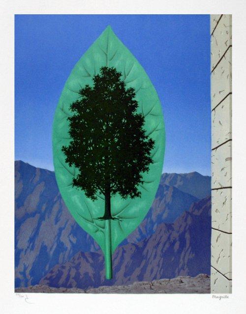 René Magritte, Le dernier cri, 1967