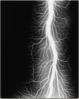 Hiroshi Sugimoto - Lightning Fields 327, 2014