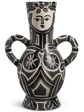 Pablo Picasso - Vase Deux anses Hautes (A.R. 213) 1953, 37,6 cm. Stimato $25.600-38.400, aggiudicato per $56.000.