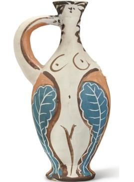 Pablo Picasso - Vase-femme avec un bras-anse, 34.2 cm.