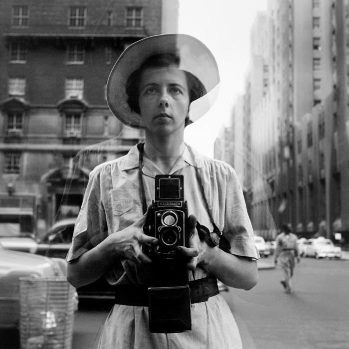 Vivian Maier, Self-Portrait, Undated