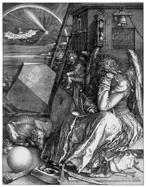 Albrecht-Dürer-La-Melancolia-Melencolia-I-1514.-Londra-National-Gallery.-Courtesy-Otto-Schafer-Stiftung-der-Stadt-Schweinfurt