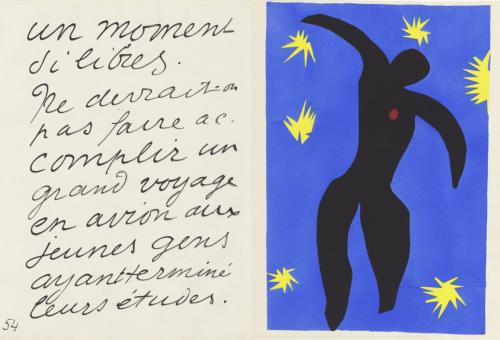 Giulia_Henri Matisse Icaro (dalla raccolta Jazz), 1946-47