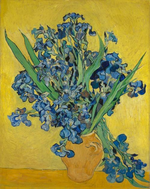 "Greta_""Irises"" Vincent van Gogh (1853 - 1890), 1890 (oil on canvas, 92.7 cm x 73.9 cm).jpg"