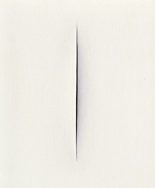 Meola_Lucio Fontana, Concetto Spaziale. Attesa, 1965